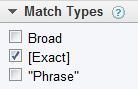 exact-match-keyword